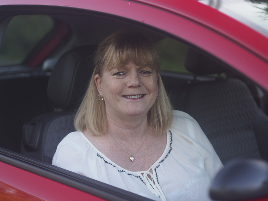 female automatic driving instructor oldham